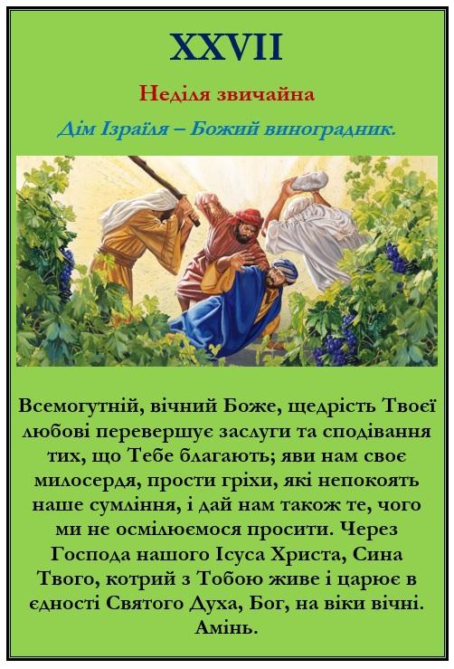 Дім Ізраїля - Божий виноградник
